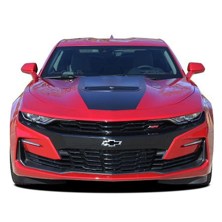 2019 Chevy Camaro Hood Decal SHOCK Center Stinger Style Hood Stripe Decals Vinyl Graphics Kit