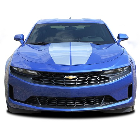 2019 Chevy Camaro Racing Stripes REV SPORT Dual Hood Decals Trunk Vinyl Graphics Decal Kit