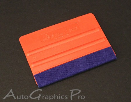 Avery Red Squeegee : Vinyl Graphics and Stripe Installation Tool