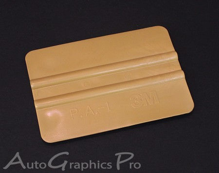 3M Gold Squeegee : Vinyl Graphics and Stripe Installation Tool