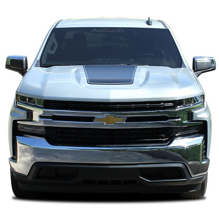 2020 2019 Chevy Silverado Hood Decal T-BOSS Trail Boss Stripe 3M Vinyl Graphics Kit