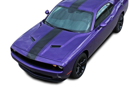 2015-2021 Dodge Challenger Stripes FINISHLINE 15 Redline Rallye Racing Stripes Vinyl Graphics Mopar Style Kit