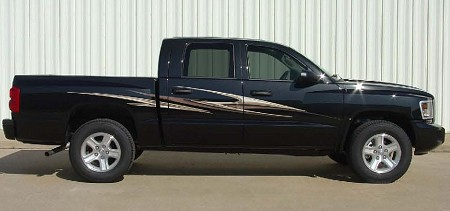 Dodge Dakota SLIPSTREAM Universal Fit Vinyl Decal Graphic Stripes