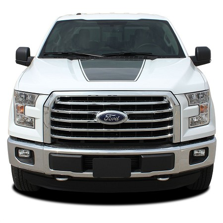 2015-2020 Ford F-150 Stripes FORCE HOOD Decals Vinyl Graphic Factory Style Kit