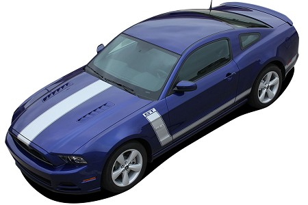 "2013 2014 Ford Mustang ""PRIME 2"" BOSS ""Style"" Vinyl Decal Graphics"