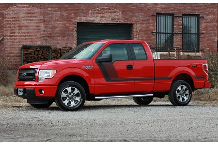 2009-2014 and 2015-2019 Ford F-150 Graphics QUAKE SIDES Factory Tremor FX Stripes Hockey Stick Side Vinyl Graphic Decals