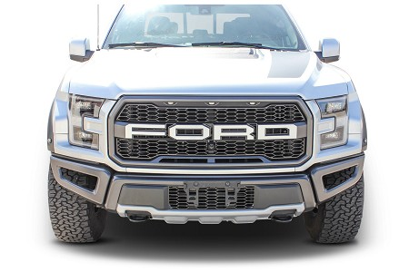 Ford Raptor Grill Stripes VELOCITOR GRILL TEXT Decals Vinyl Graphics Kit 2018 2019 2020