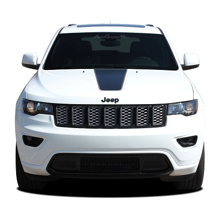 2011-2020 Jeep Grand Cherokee Hood Center Decal PATHWAY HOOD Vinyl Graphic Stripes