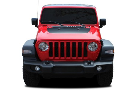 2020 Jeep Gladiator SPORT HOOD Vinyl Decal Graphic Hood Stripes Kit