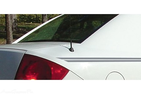 Chevy Cobalt Vinyl Graphics LAZER Upper Body Wide Pin Striping Decal Kit - Universal Fit