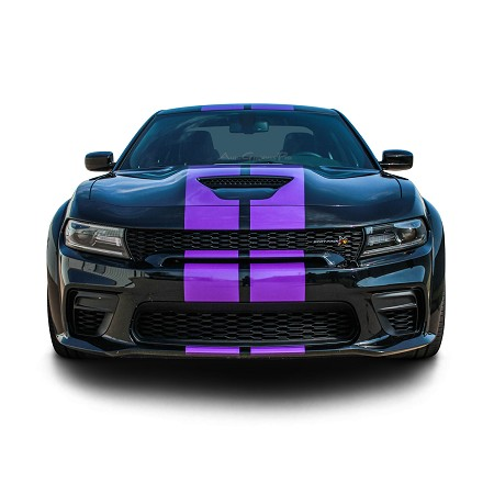 2015-2021 Dodge Charger Widebody Vinyl Racing Stripes N-CHARGE RALLY S-PACK R/T Scat Pack SRT 392 Hellcat Mopar Decals Kit