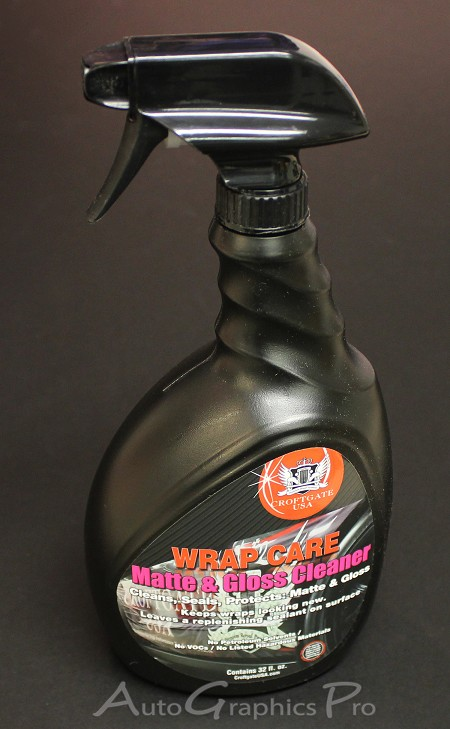 WRAP CARE CLEAN | Matte and Gloss Vinyl Cleaner (32 oz) by Croftgate