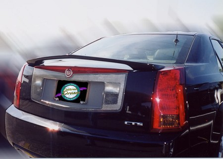 Cadillac CTS : Painted Rear Spoiler Wing fits 2002-2010 Models