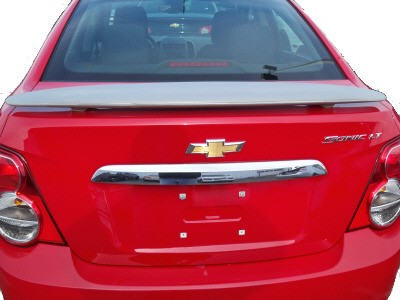 Chevy Sonic : Painted Rear Spoiler Wing fits 2012-2015 Models