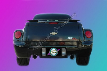 Chevy SSR : Painted Rear Spoiler Wing fits 2004-2006 Models