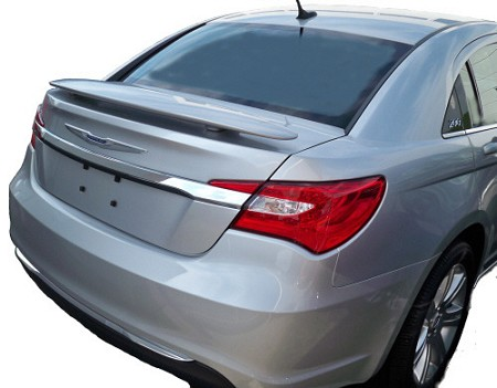 Chrysler 200 : Painted Rear Spoiler Wing fits 2011-2013 Models