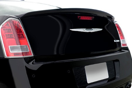 Chrysler 300 : Painted Rear Spoiler Wing fits 2012-2013 Models