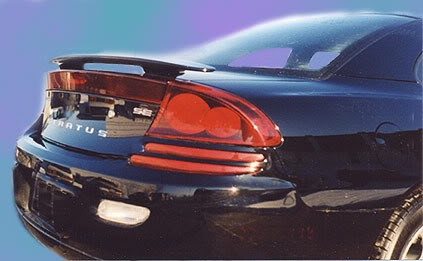 Dodge Stratus : Painted Rear Spoiler Wing fits 2001-2006 Models