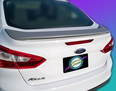 Ford Focus : Painted Rear Spoiler Wing fits 2012-2013 Models