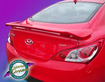 Hyundai Genesis : Painted Rear Spoiler Wing fits 2010 - 2011 Models