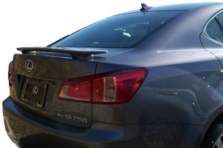 Lexus IS250 : Painted Rear Spoiler Wing fits 2013 Models