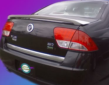 Mercury Milan : Painted Rear Spoiler Wing fits 2010-2011 Models