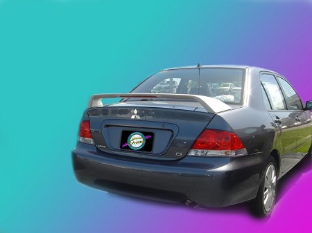 Mitsubishi Lancer : Painted Rear Spoiler Wing fits 2004 - 2007 Models