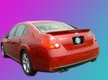 Nissan Maxima : Painted Rear Spoiler Wing fits 2004 - 2008 Models