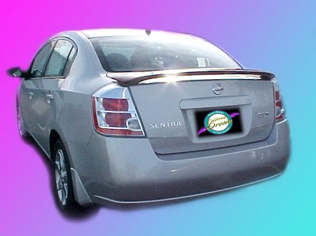 Nissan Sentra : Painted Rear Spoiler Wing fits 2007 - 2011 Models