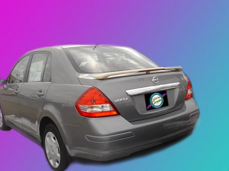 Nissan Versa : Painted Rear Spoiler Wing fits 2007 - 2011 Models