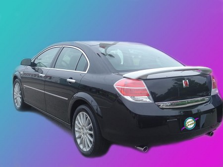 Saturn Aura : Painted Rear Spoiler Wing fits 2007 - 2009 Models