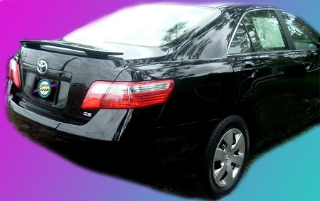 Toyota Camry : Painted Rear Spoiler Wing fits 2007 - 2011 Models