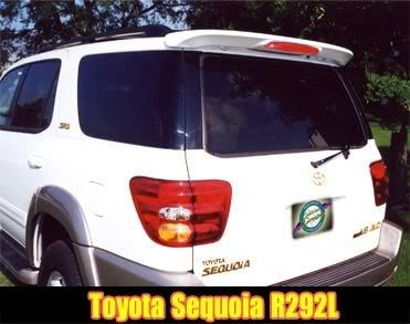 Toyota Sequoia : Painted Rear Spoiler Wing fits 2000 - 2007 Models